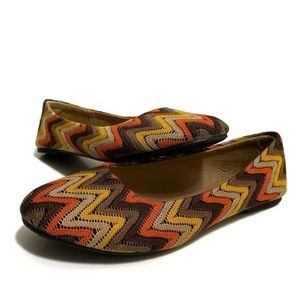 Kalli Collection Multicolored Patterned Flats
